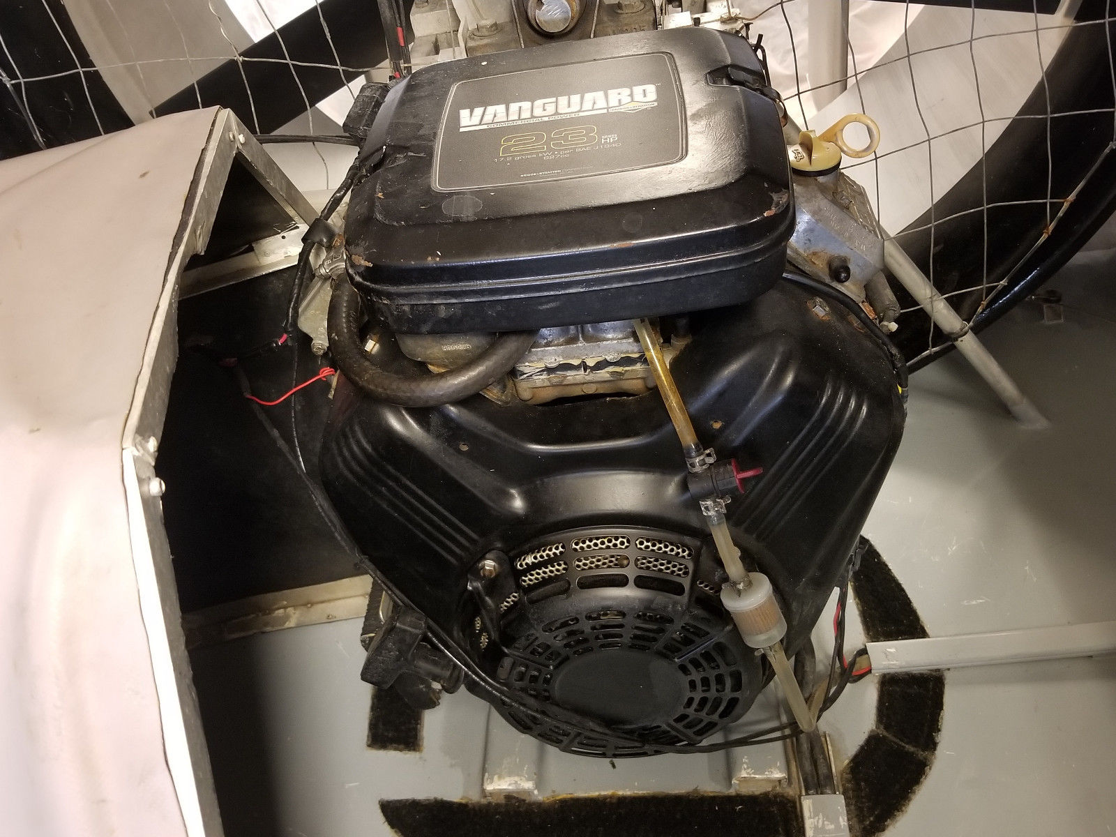 delorean hovercraft rear fan engine