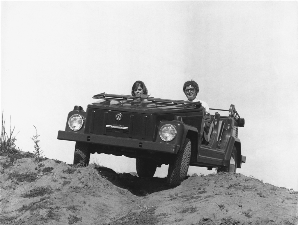 1973 Volkswagen Thing off roading