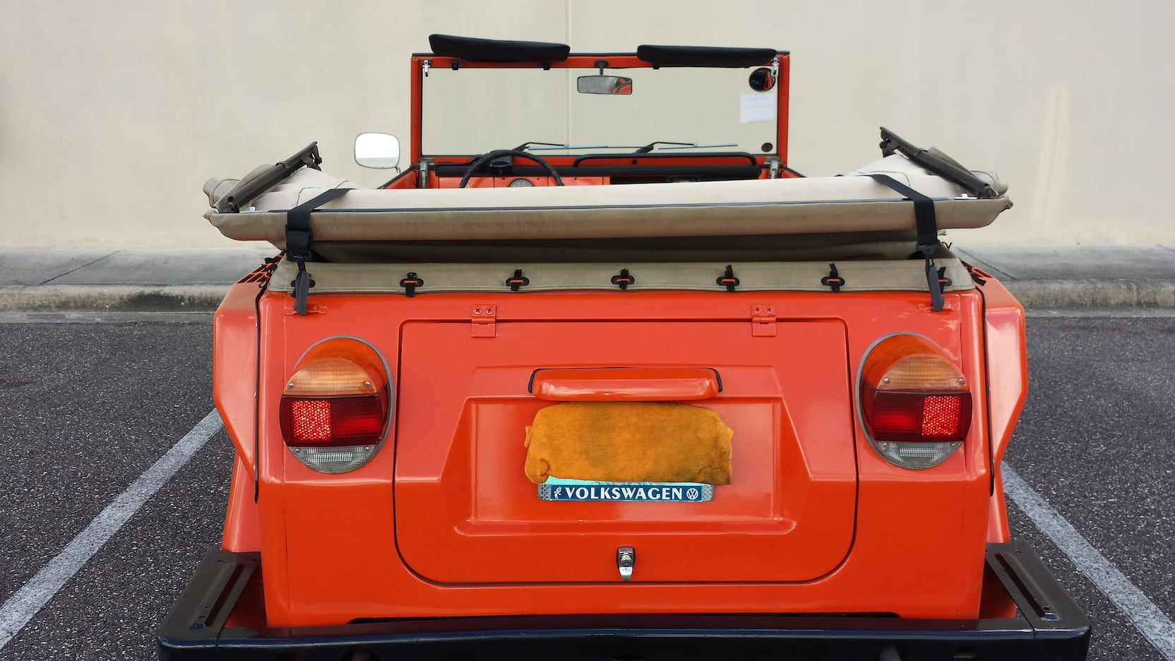 1974 Volkswagen Thing rear