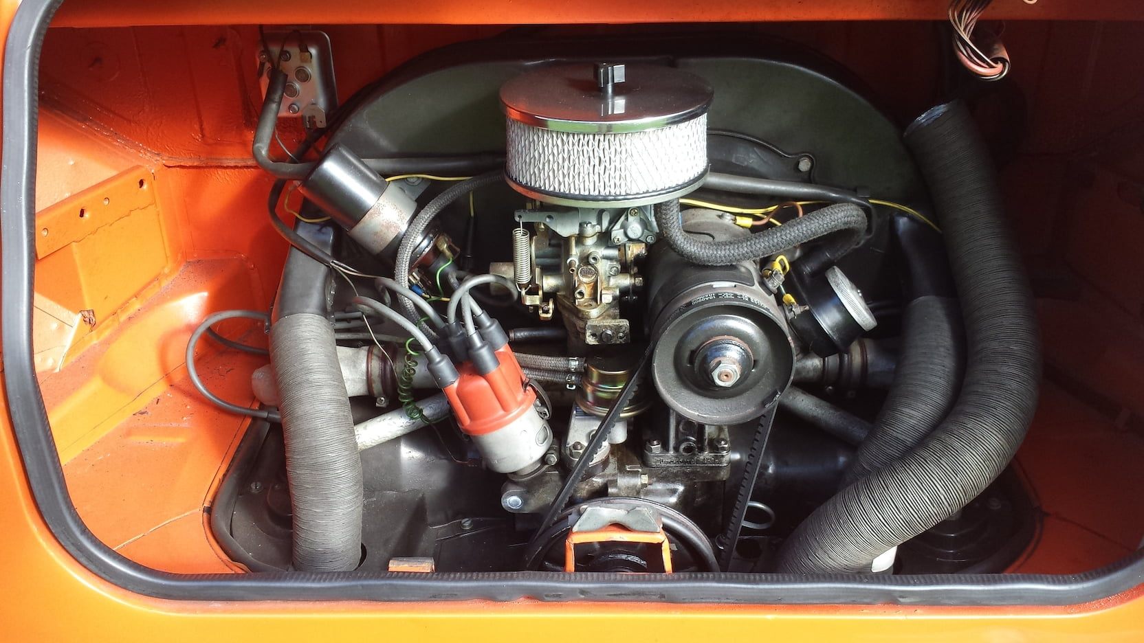 1974 Volkswagen Thing engine