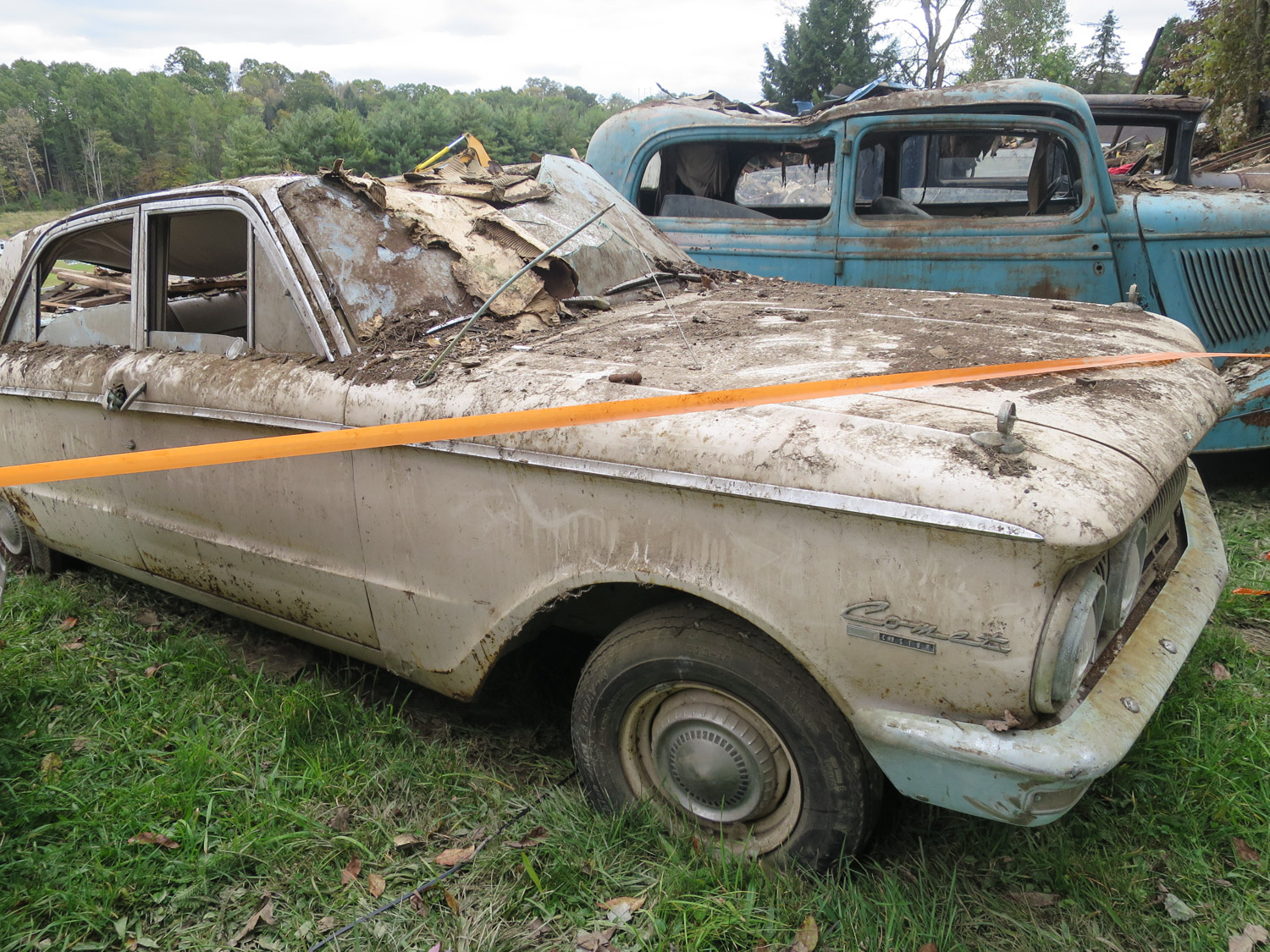 63 mercury comet barn collapse