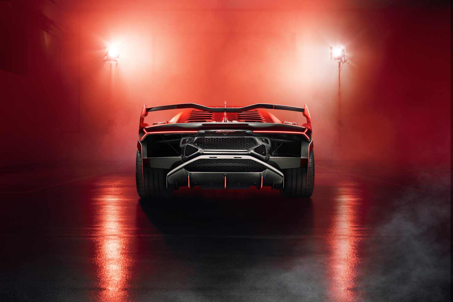 Lamborghini SC18 lights rear