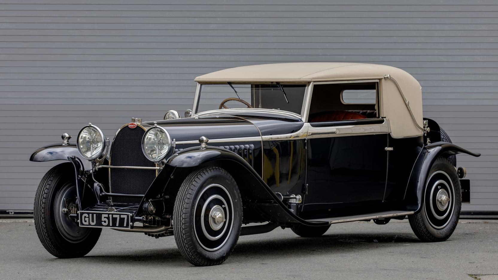 1930 Bugatti Type 46 Faux Cabriolet