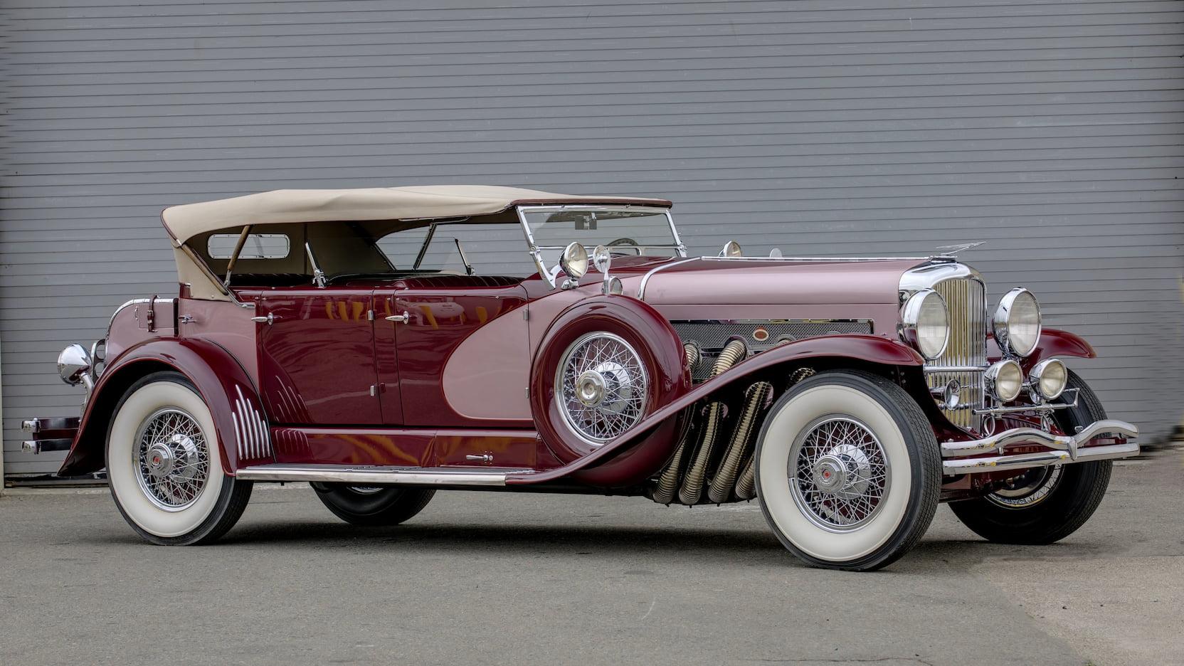 1930 Duesenberg Model J Dual Cowl Phaeton