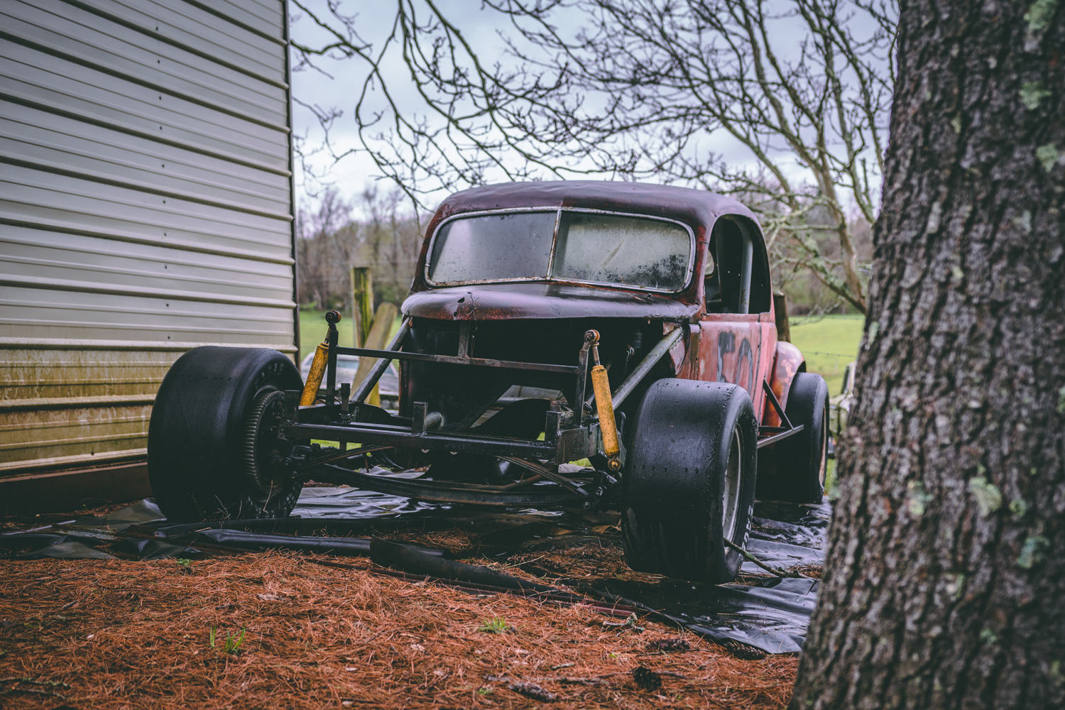 Barn Find Hunter stock car max wedge