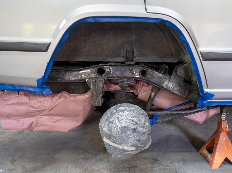 rust prevention prep frame