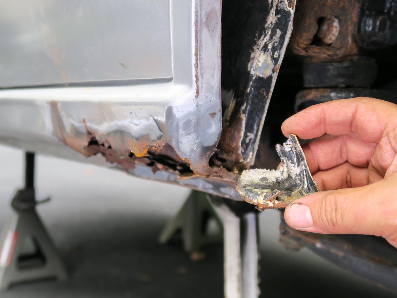 rust prevention quarter seams rust