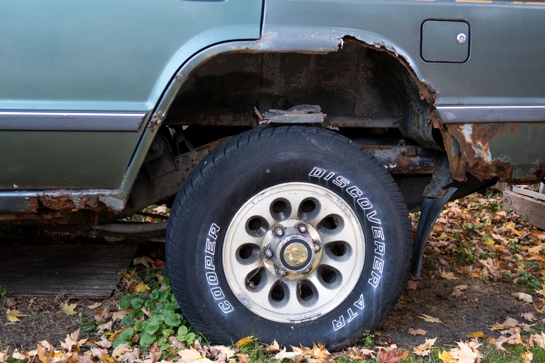 rust prevention springtime rot