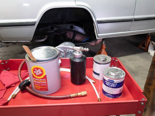 An oily pink liquid is the secret to rust-proofing | Hagerty