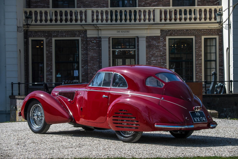 1939 Alfa Romeo 8C 2900B rear 3/4
