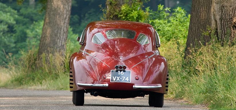 1939 Alfa Romeo 8C 2900B rear view