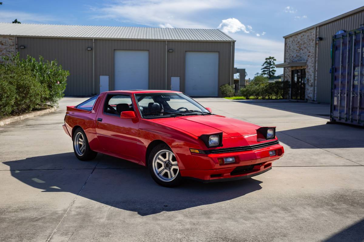 1987 Chrysler Conquest front 3/4