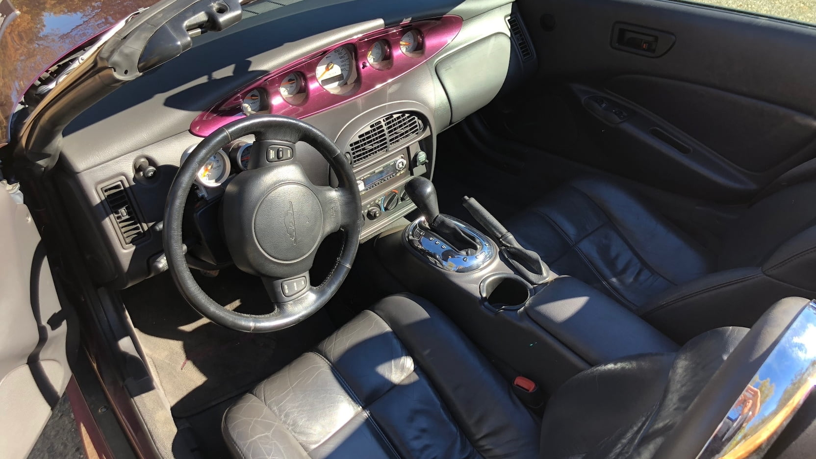 1999 Plymouth Prowler interior