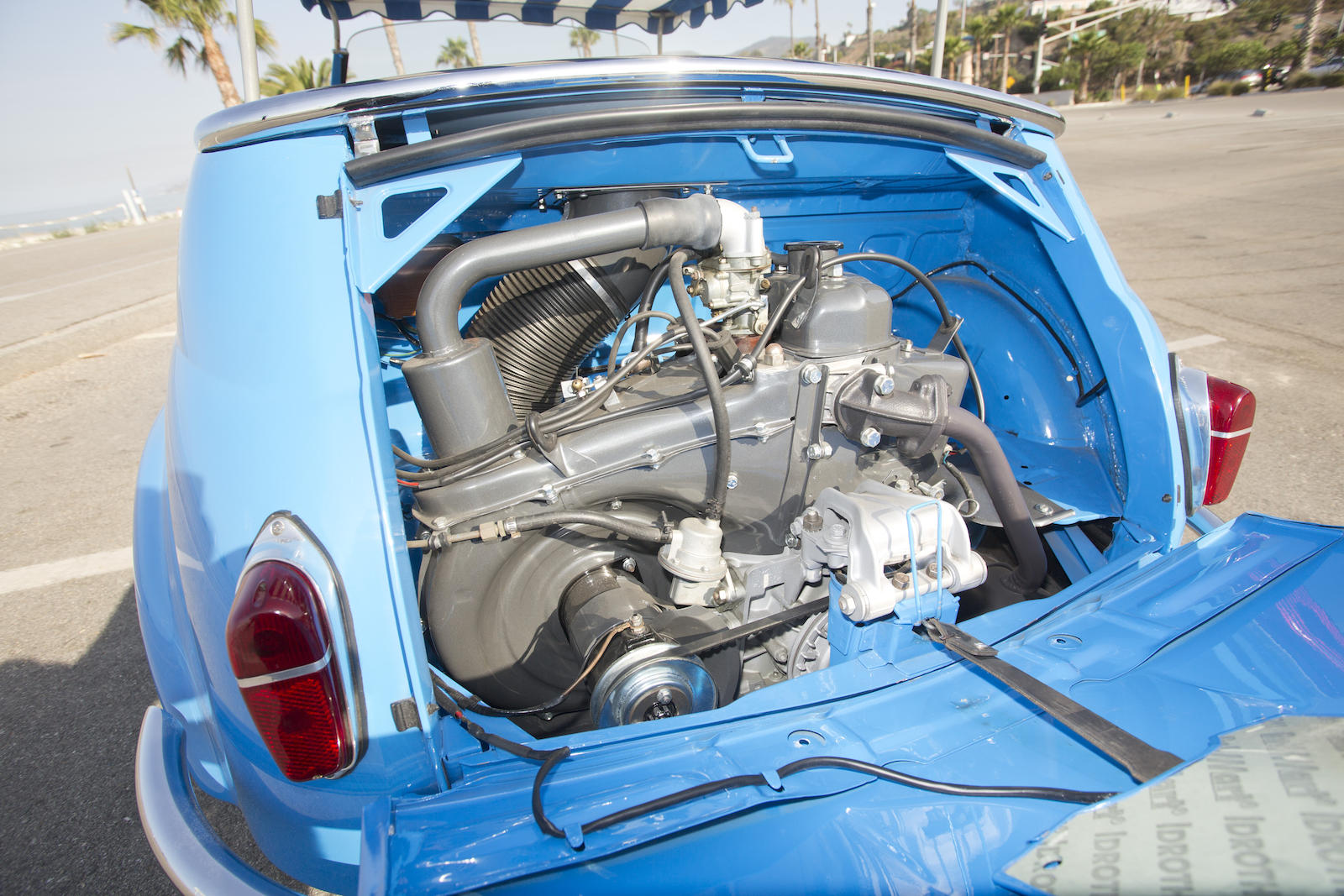 1959 Fiat Jolly engine