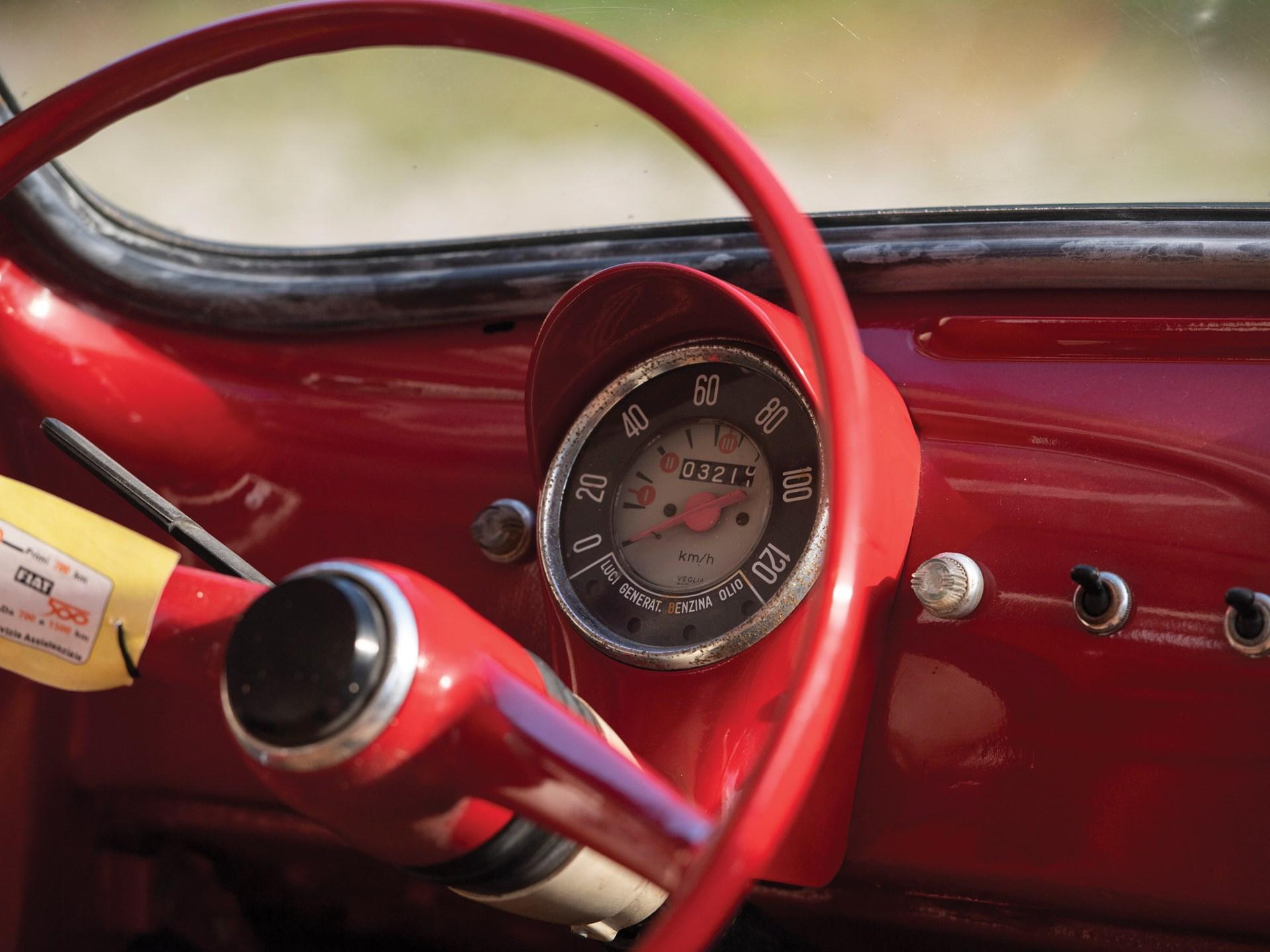 1968 Fiat Jolly gauges