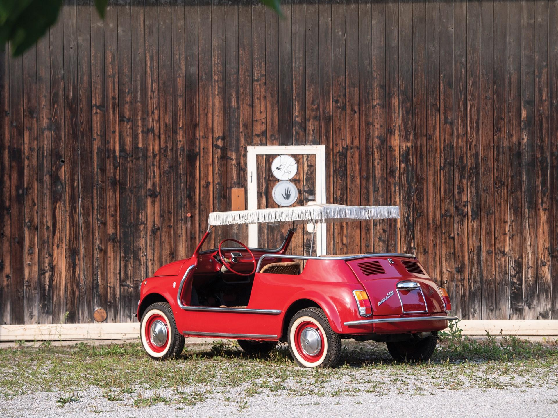 1968 Fiat Jolly 3/4 rear
