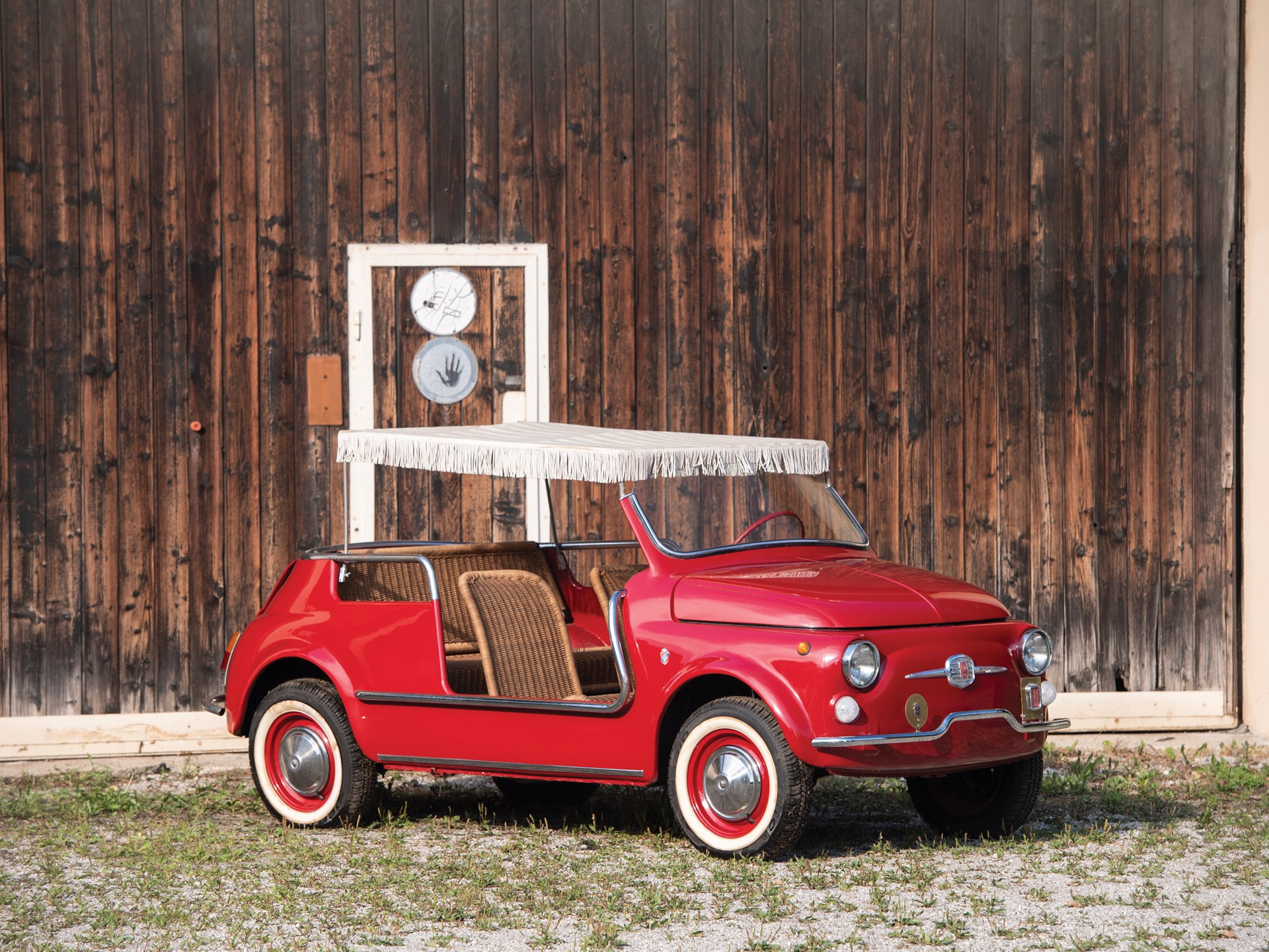 1968 Fiat Jolly front 3/4