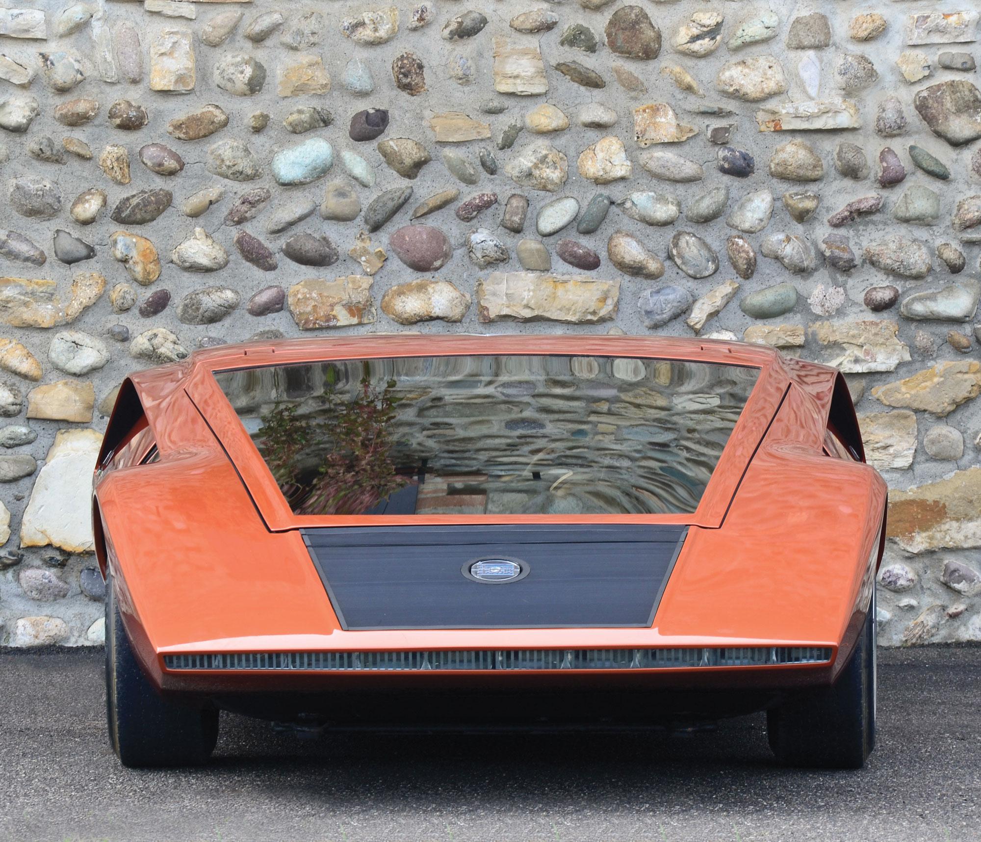 1970 Lancia Stratos HF Zero front