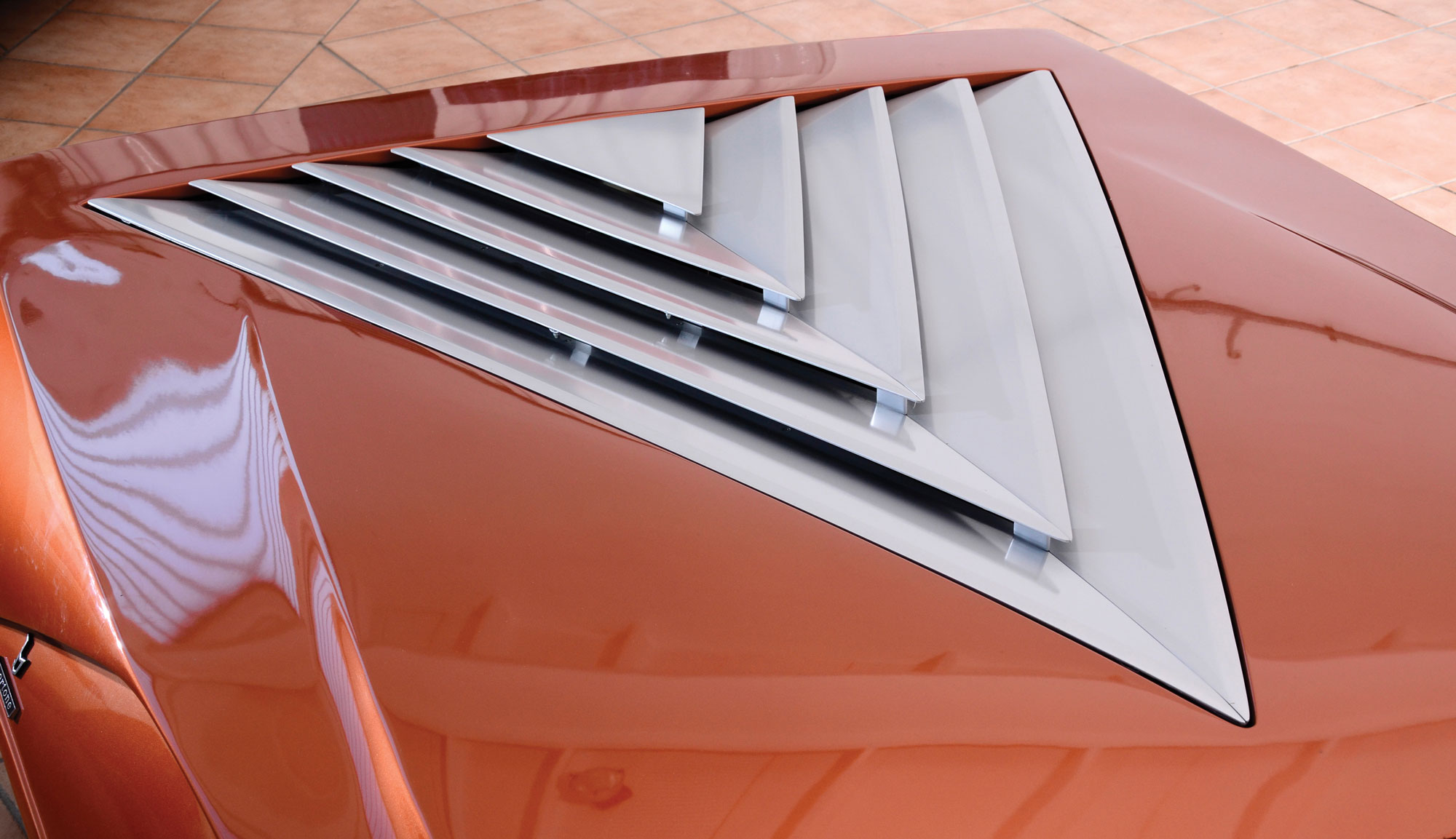 1970 Lancia Stratos HF Zero rear window
