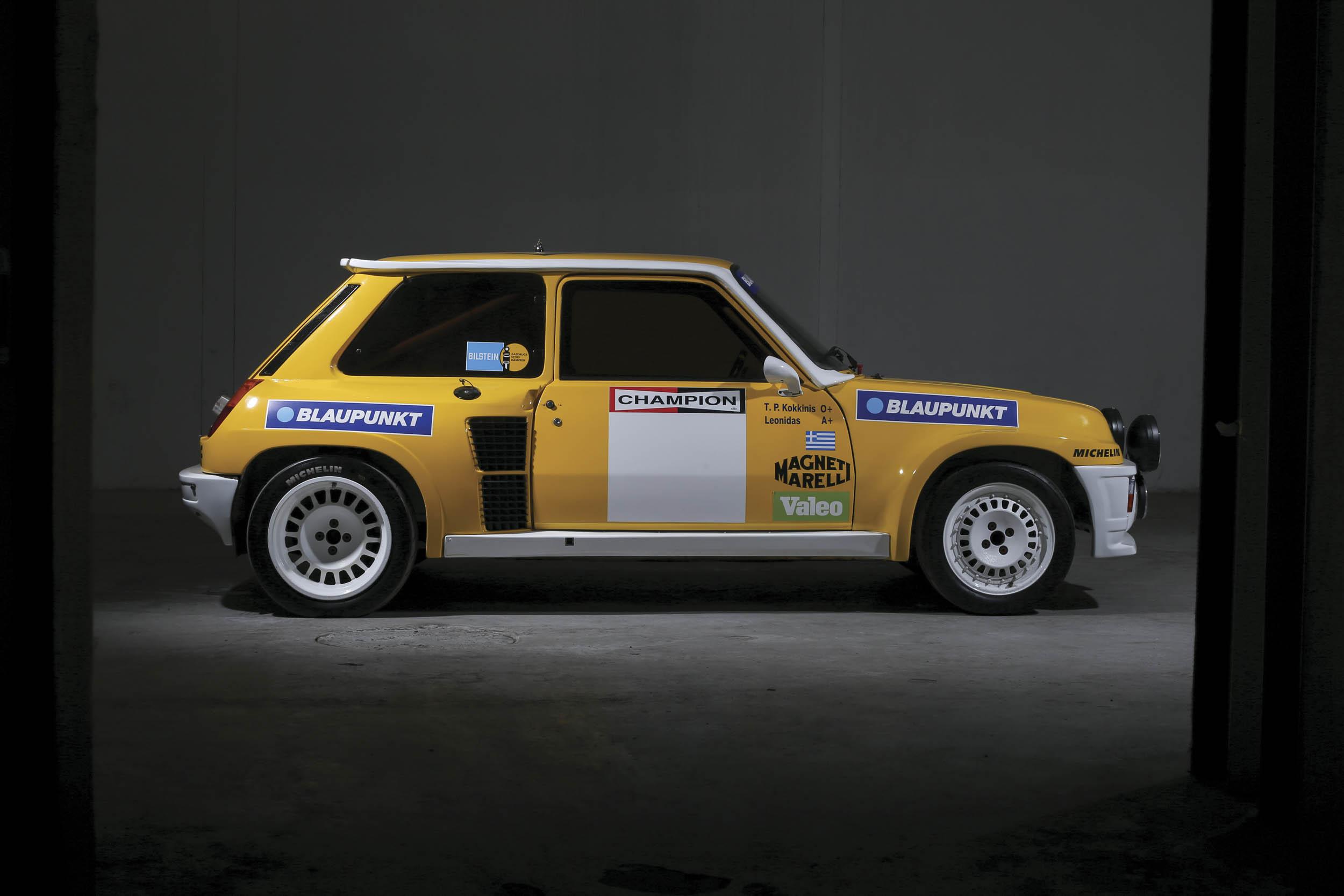 1980 Renault 5 Turbo profile