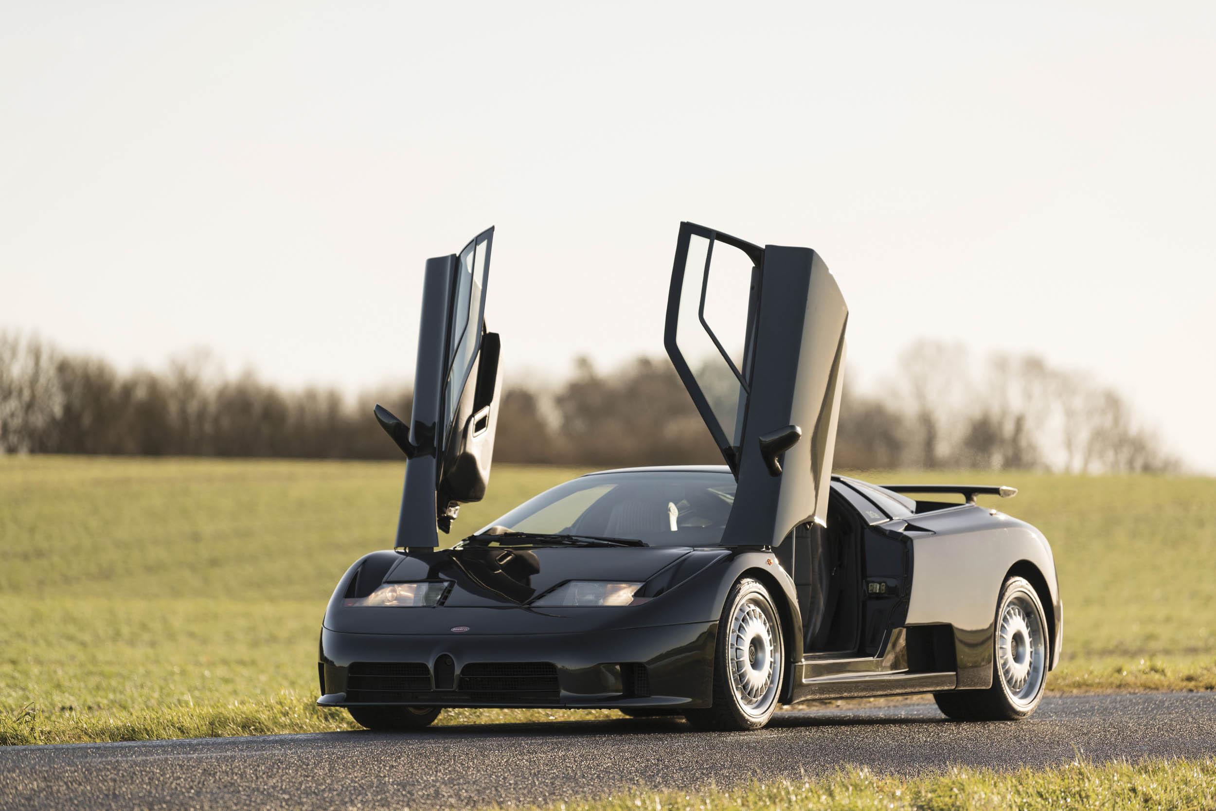 1993 Bugatti EB110 GT doors up