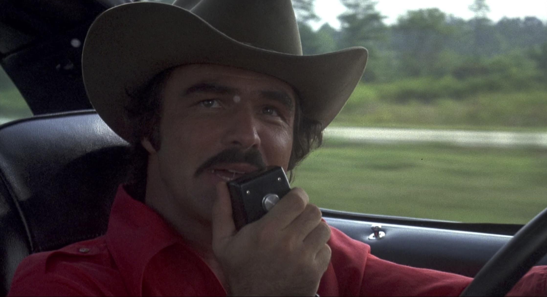 Smokey and the bandit call on the radio