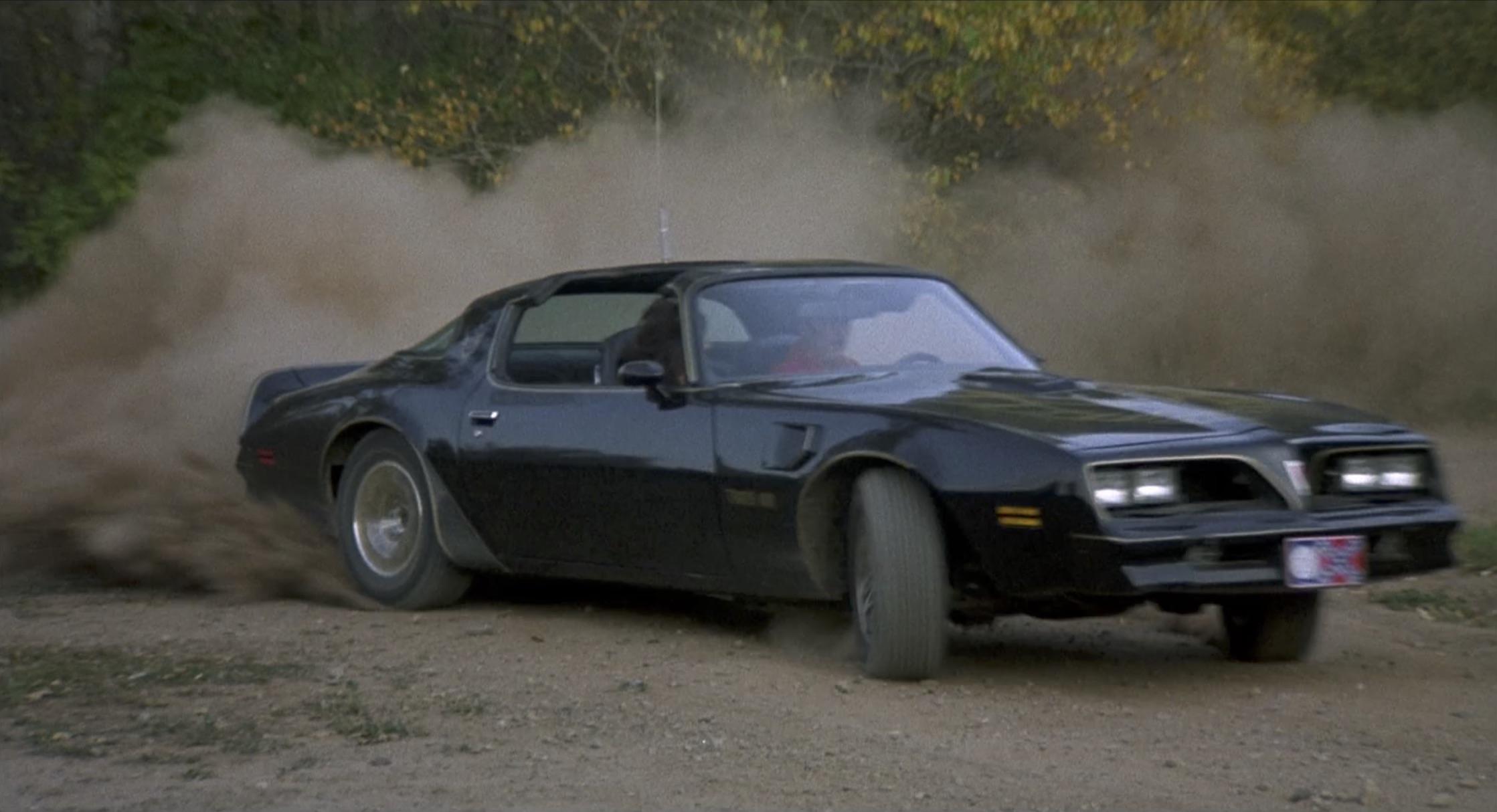 Smokey and the bandit dirt burnout