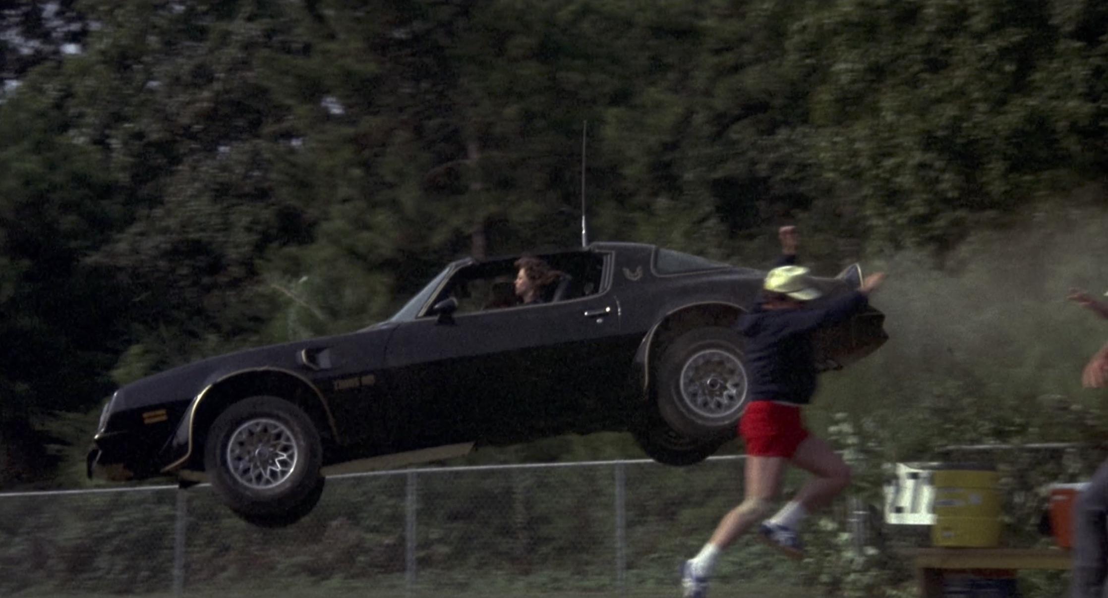 Smokey and the bandit baseball field jump