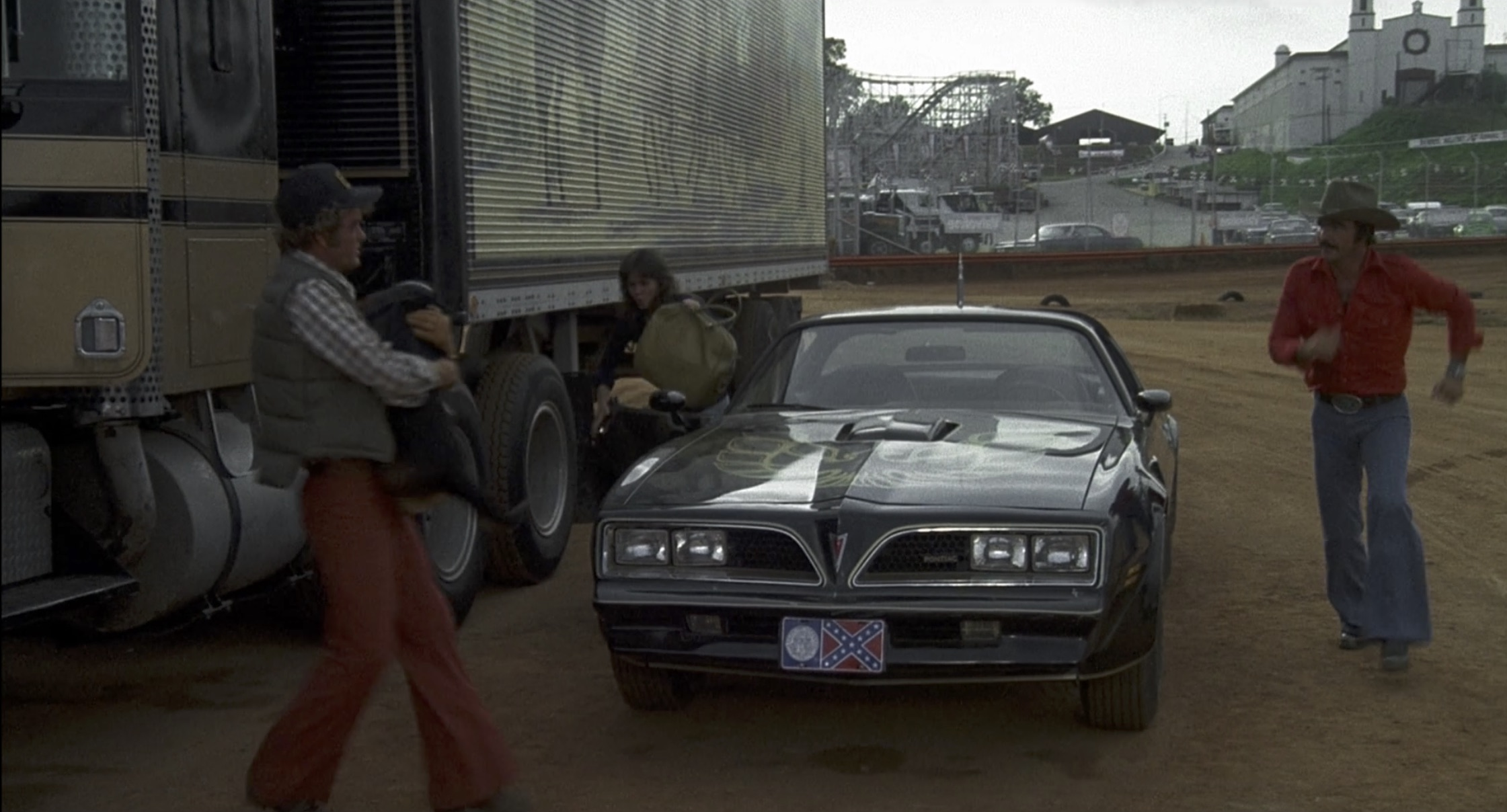 Smokey and the Bandit trans am unloaded