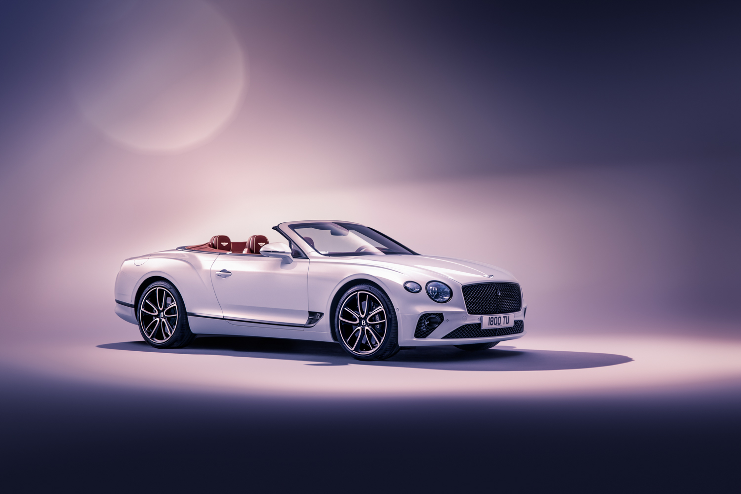 2019 Bentley Continental GT Convertible 3/4 front