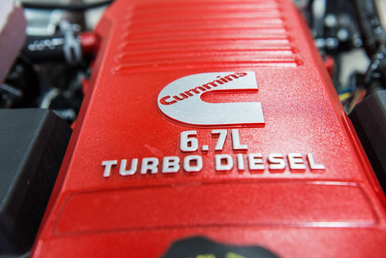 Ram Cummins Diesel engine logo