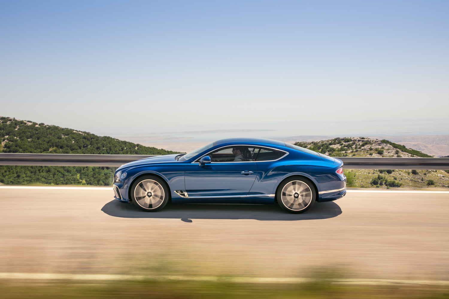 2019 Bentley Continental GT side driving