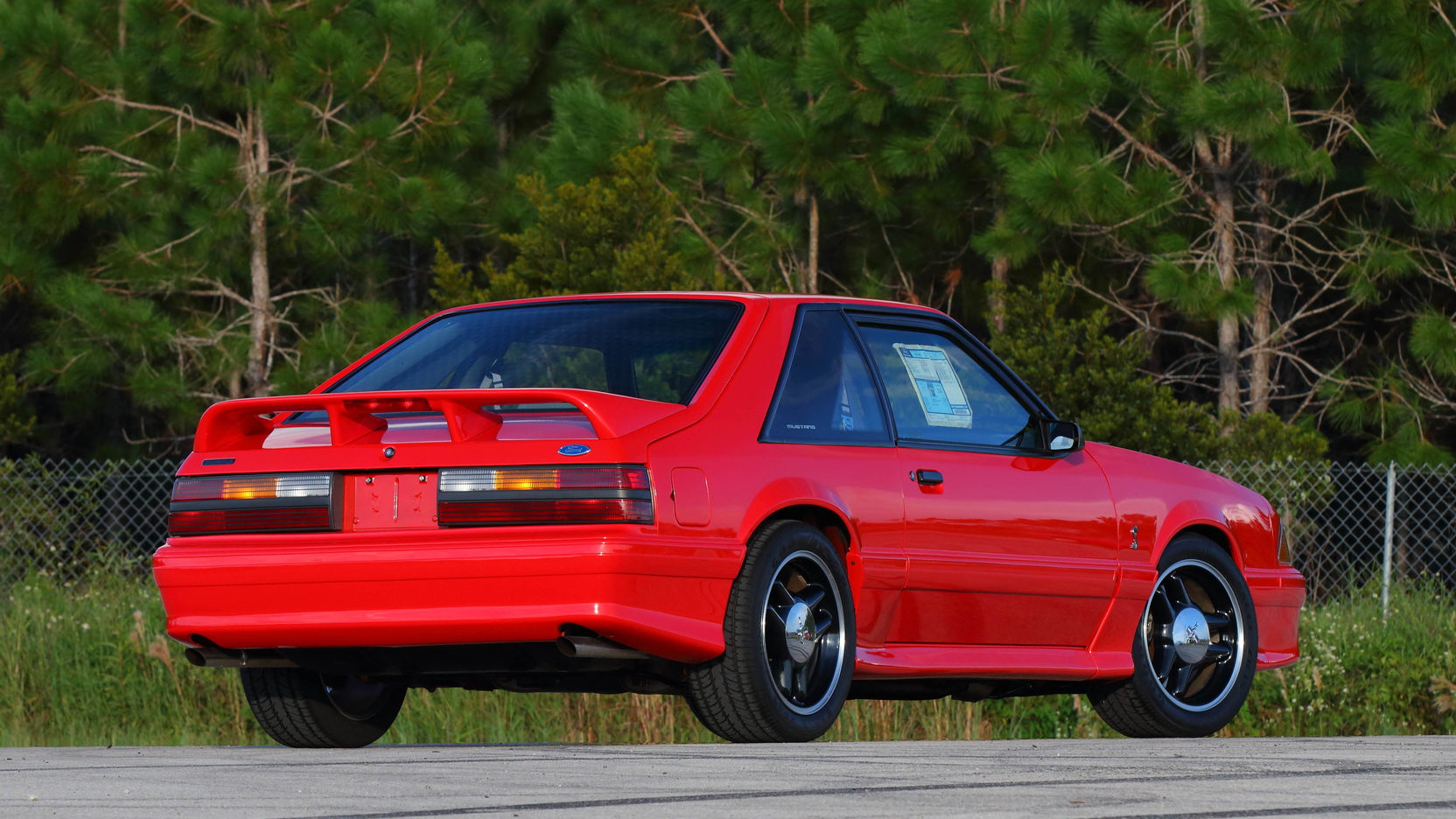 1993 Ford Mustang SVT Cobra R rear 3/4