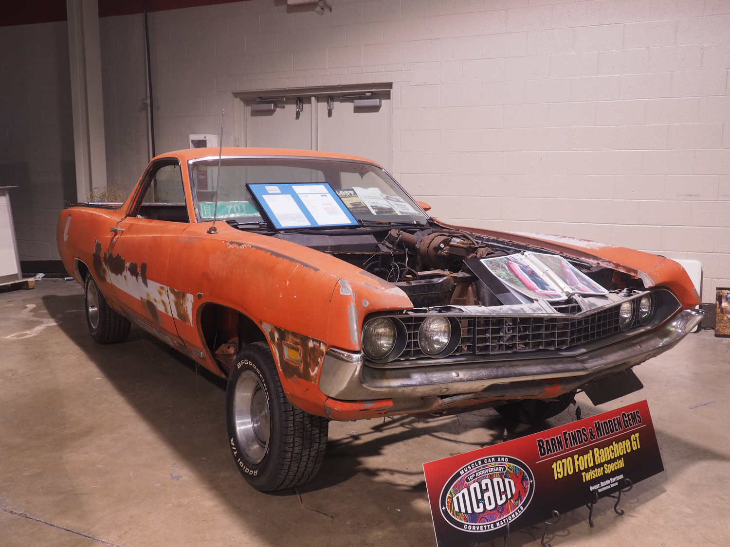 "1970 Ranchero GT ""Twister Special"" barn find"