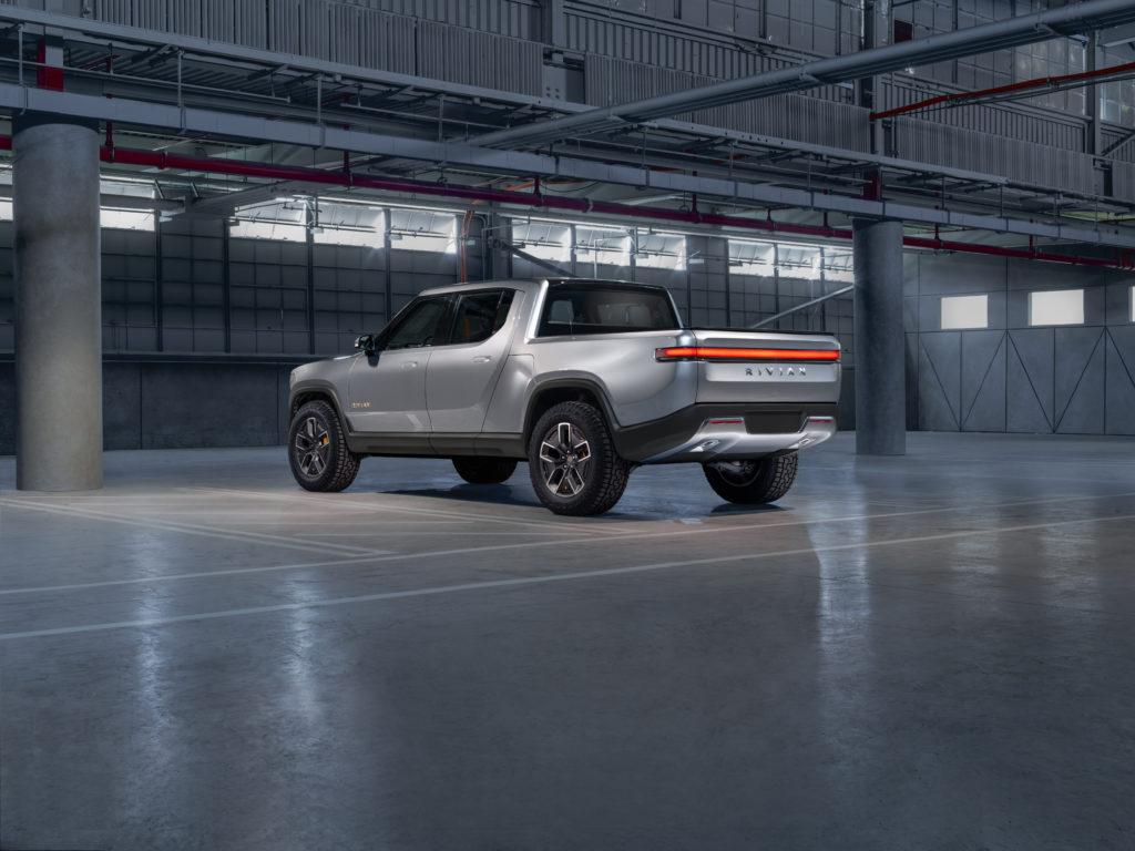 Rivian R1T Concept rear 3/4