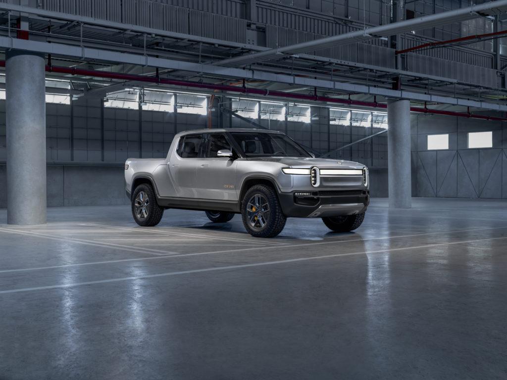 Rivian R1T Concept front 3/4