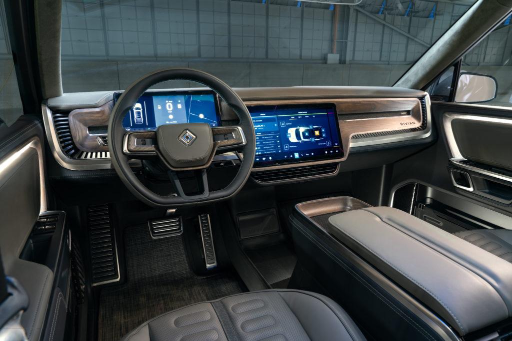 Rivian R1T Concept interior dash