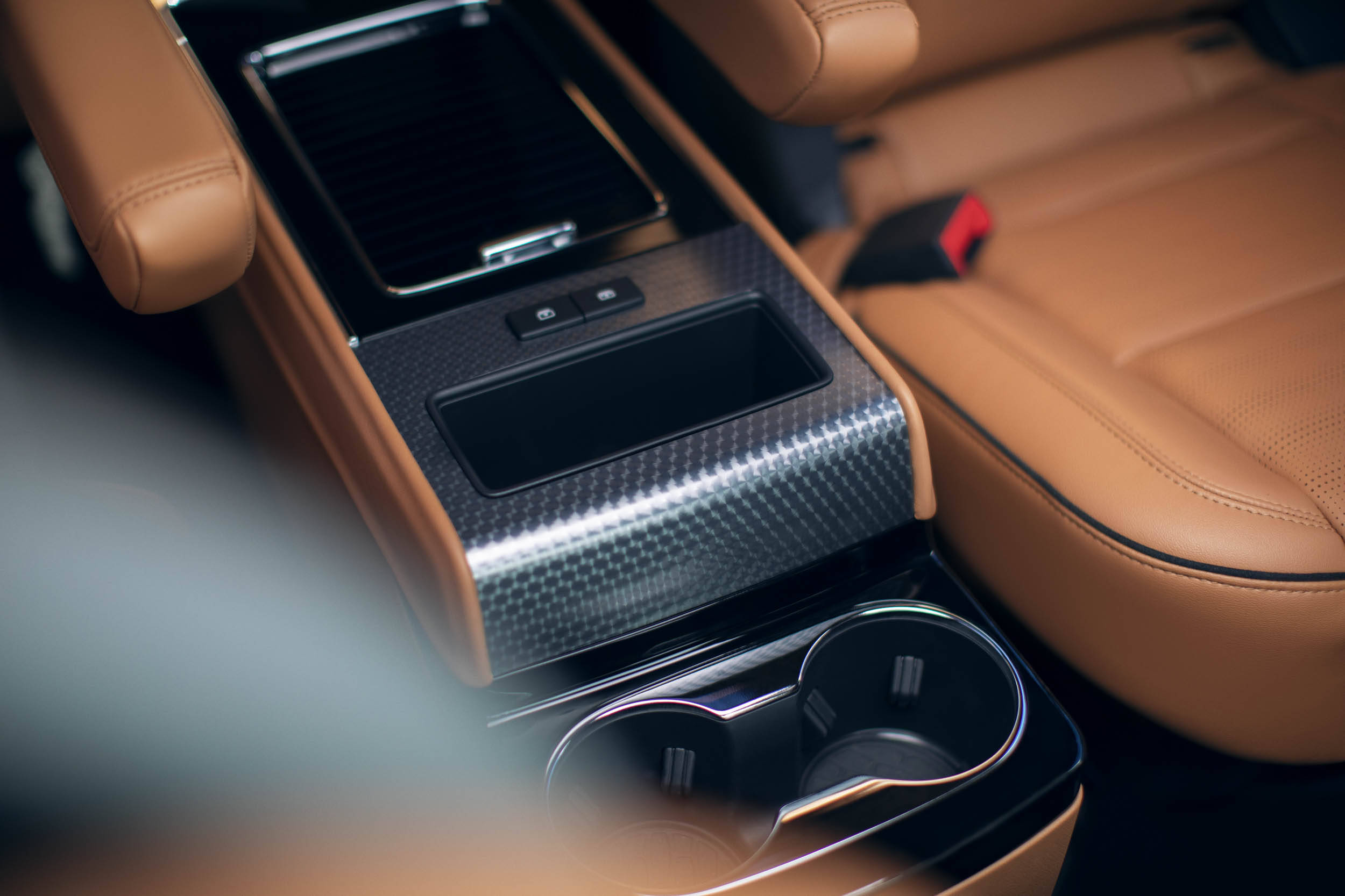 2020 Lincoln Aviator cup holders