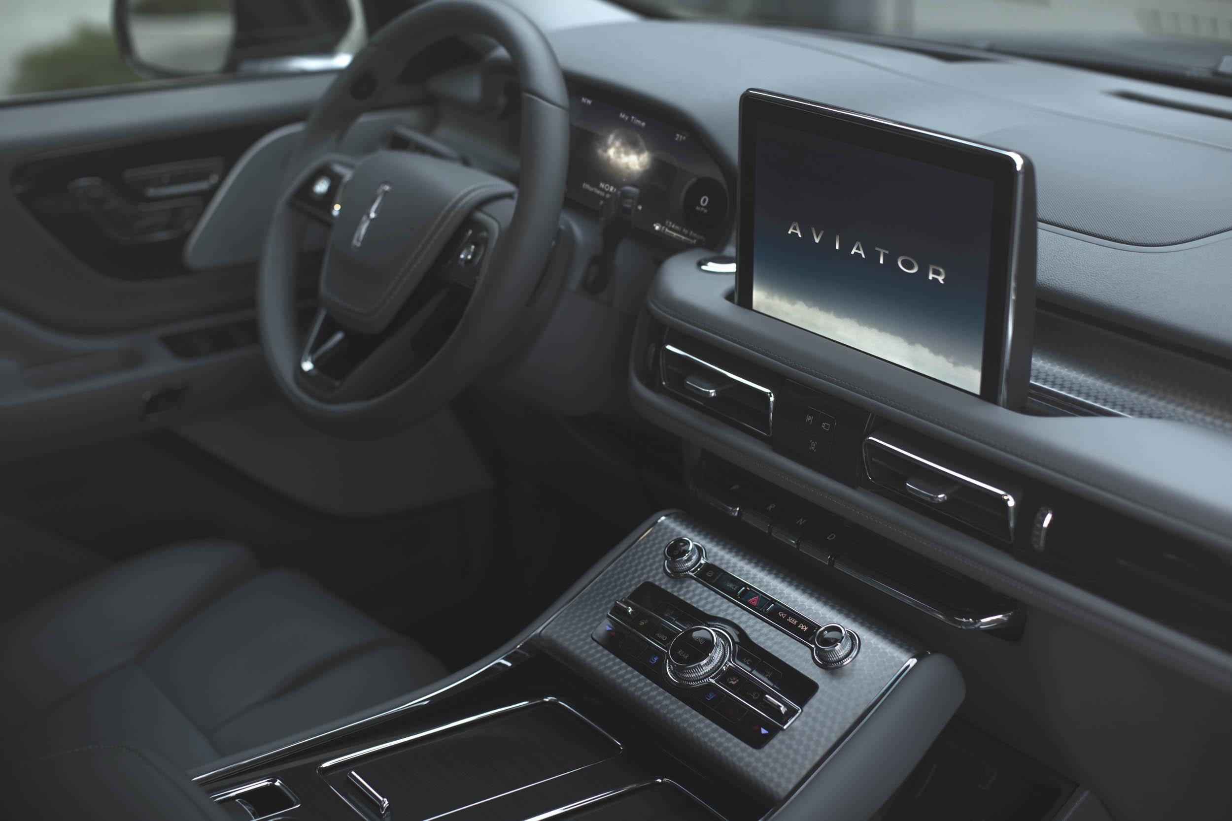 2020 Lincoln Aviator screen
