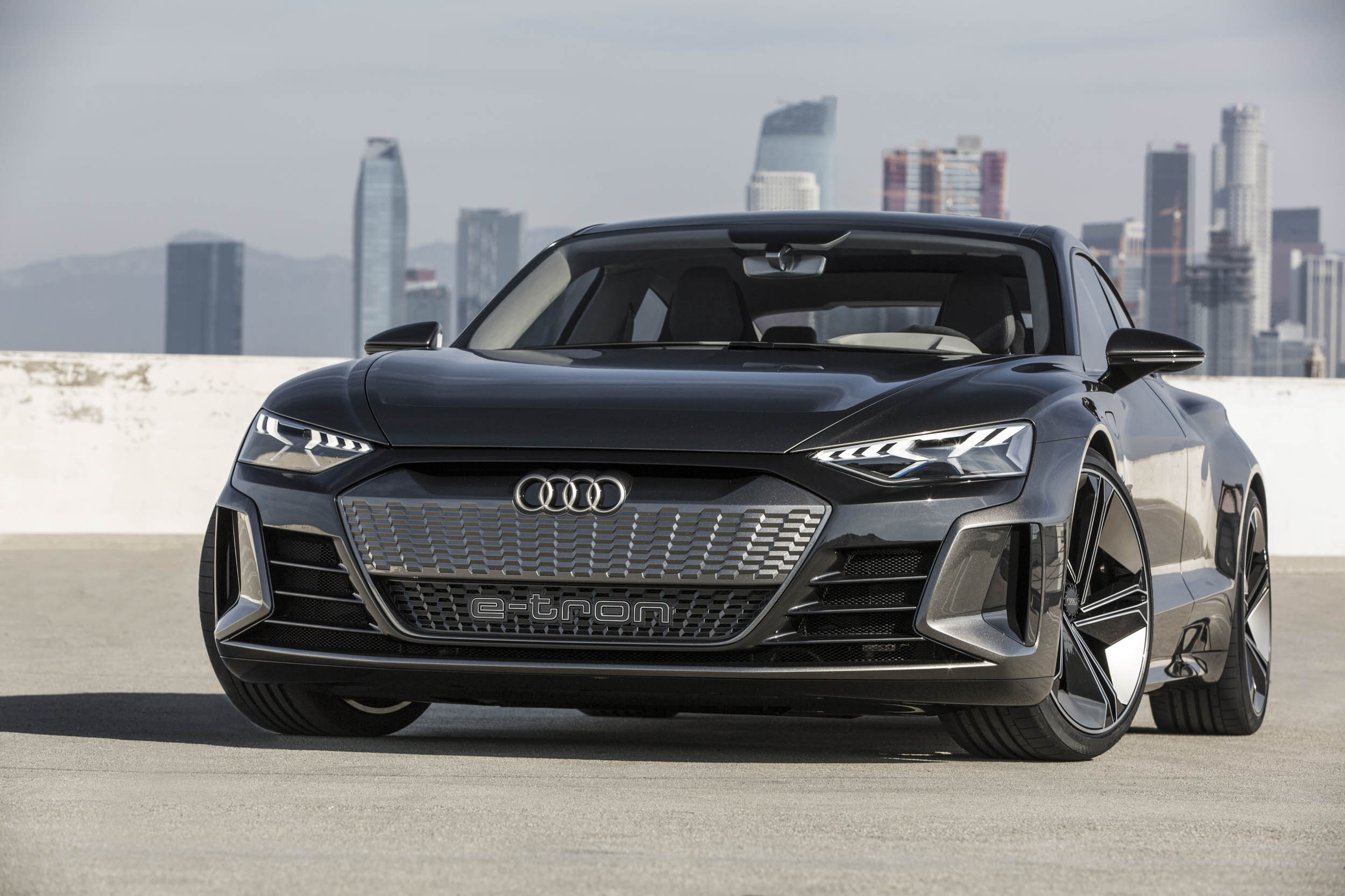 The Audi e-tron GT looks good without being too far out  thumbnail