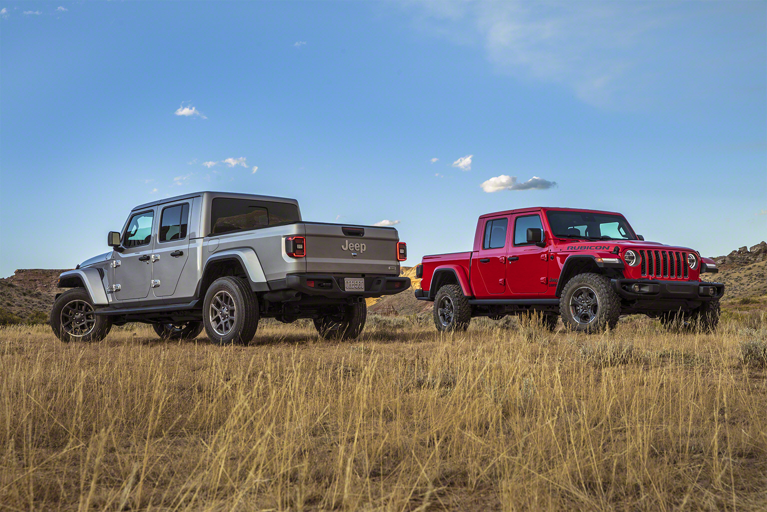 2020 Jeep Gladiator side by side