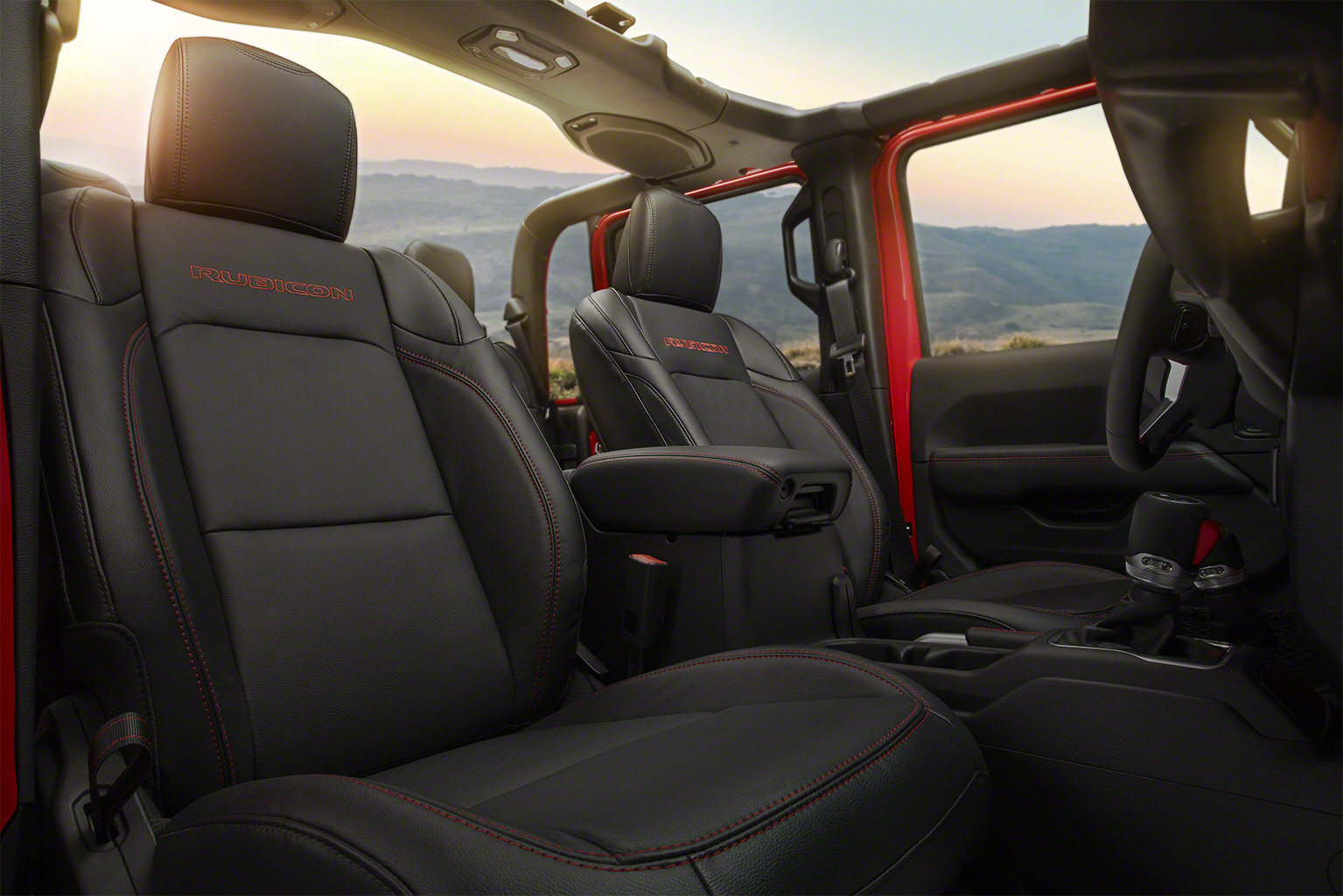 2020 Jeep Gladiator interior photos