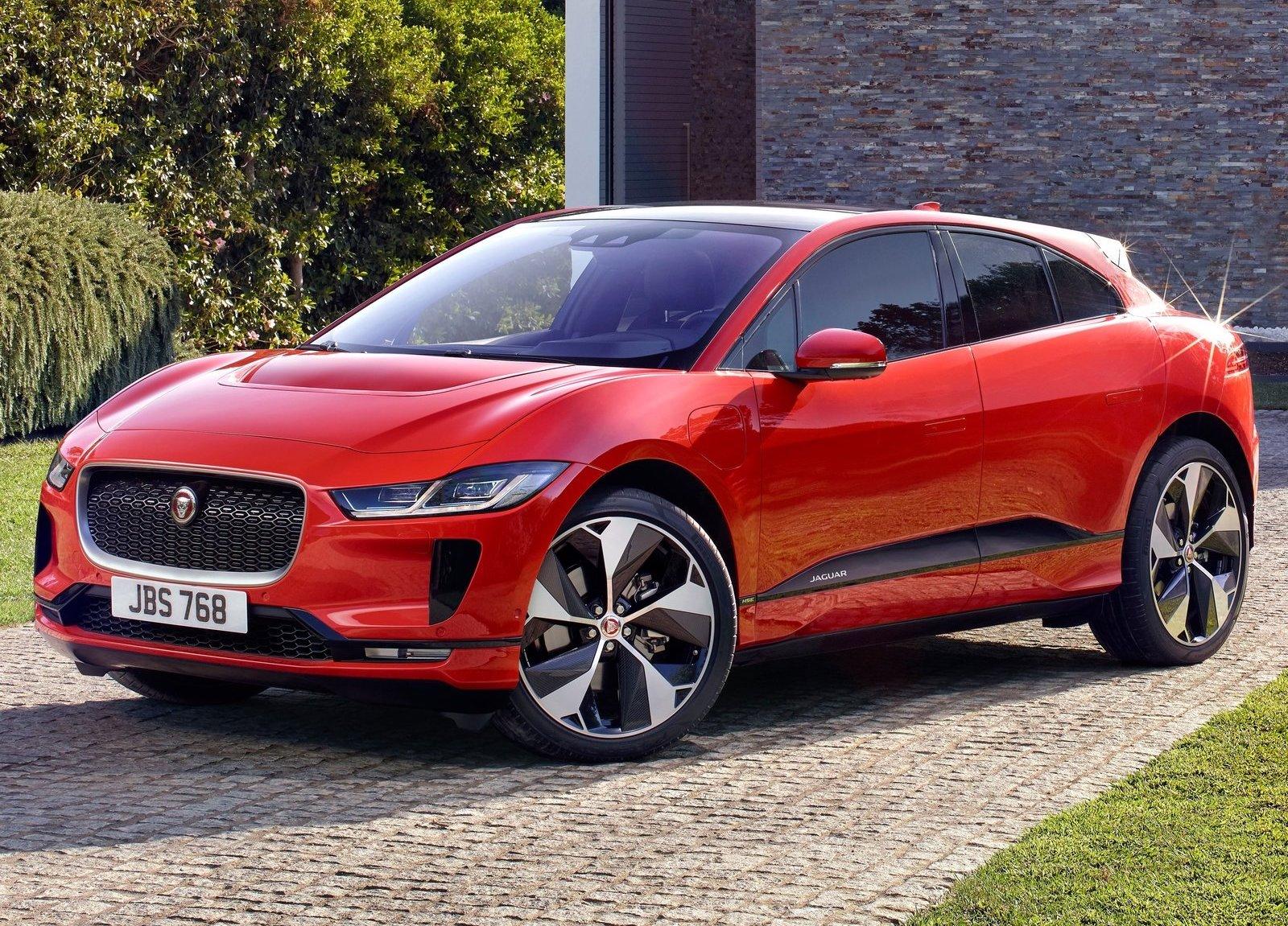 2019 Jaguar I-Pace red