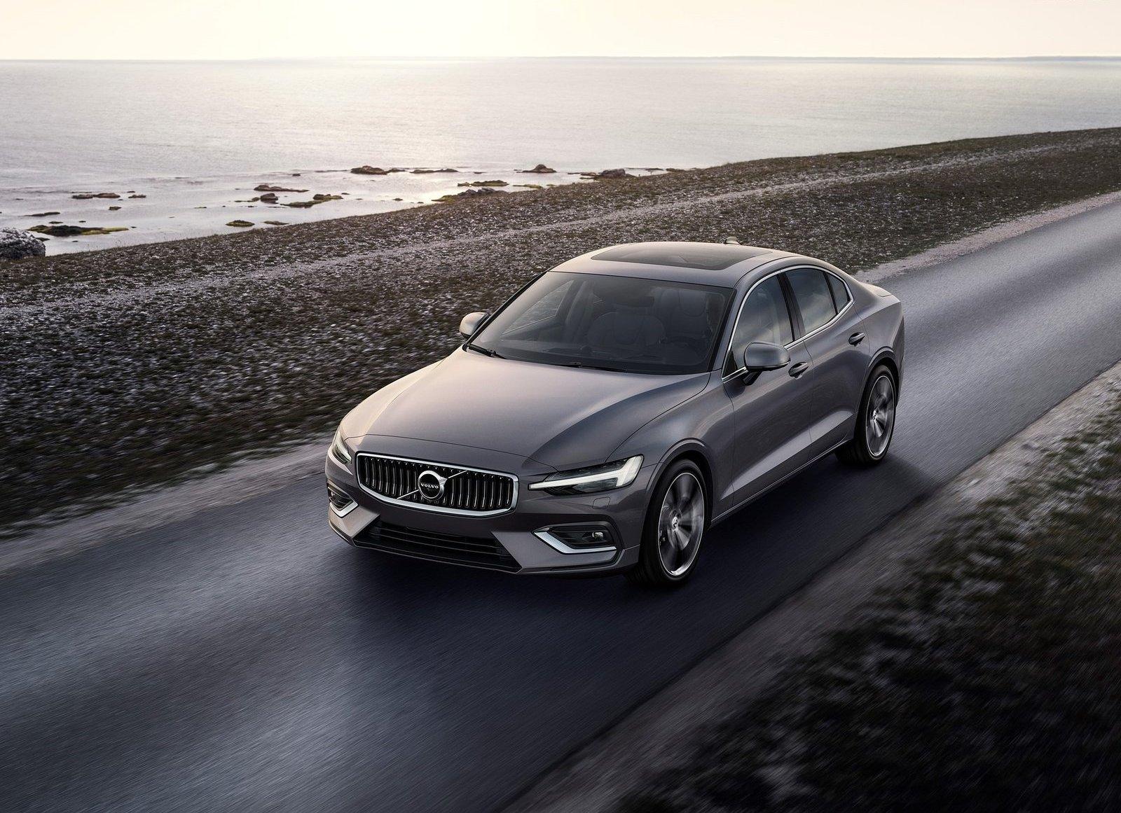 2019 Volvo S60 gray road