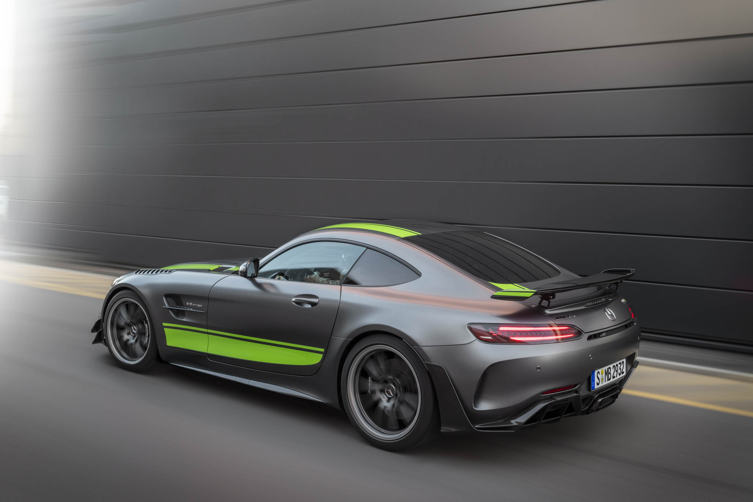 Mercedes-AMG GT R Pro rear 3/4 driving