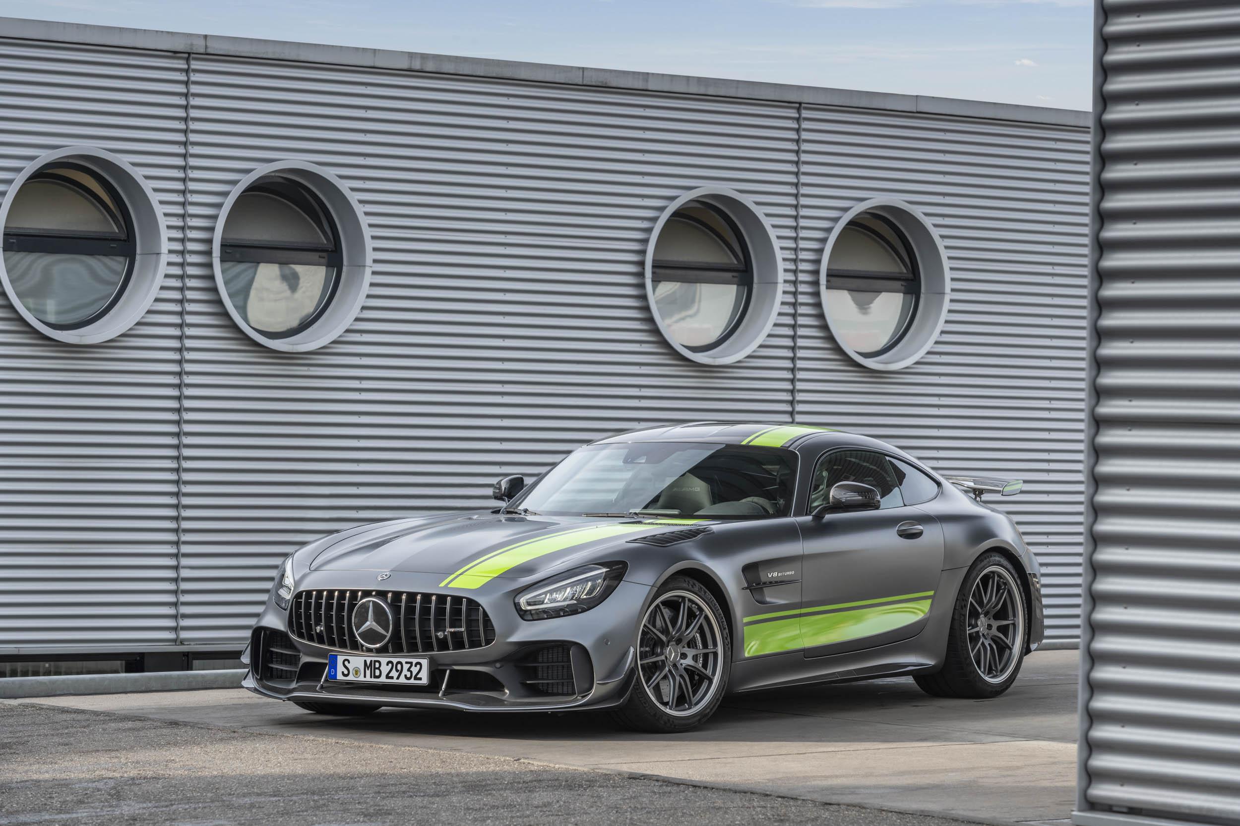 Mercedes-AMG GT R Pro track car