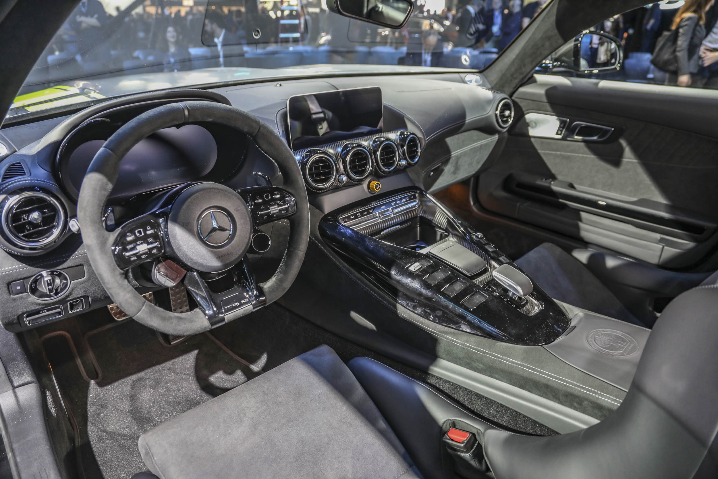 Mercedes-AMG GT R Pro interior at the LA Auto Show