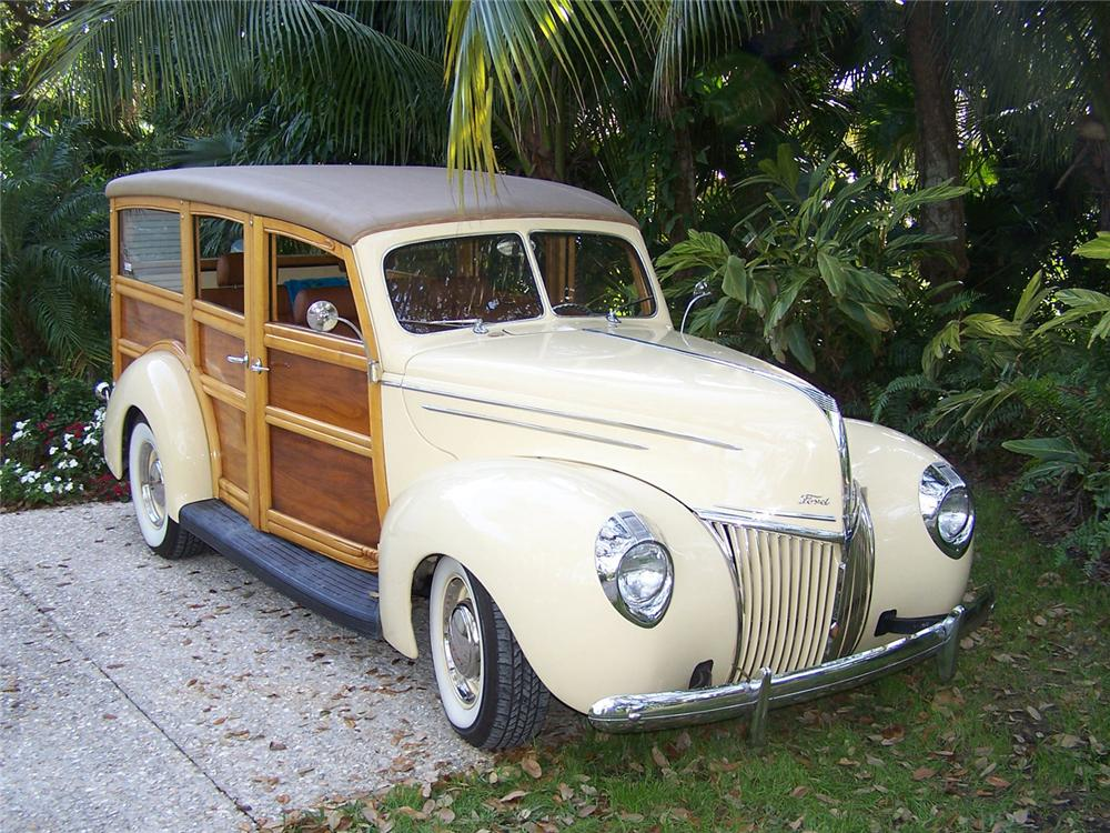 "1939 Ford ""Woody Wagon"""