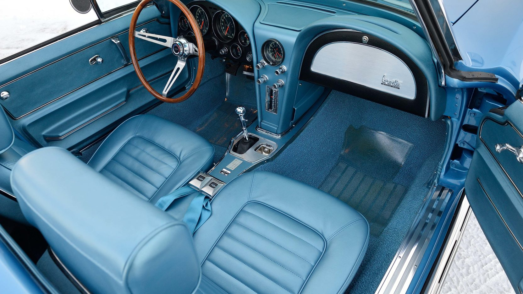 1966 Chevrolet Corvette interior