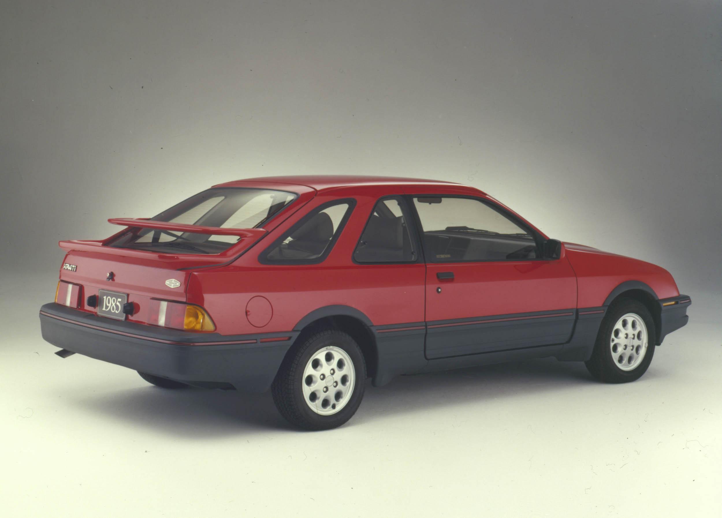 1985 Merkur XR4ti rear 3/4